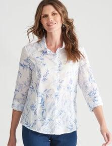 W.Lane Floral Print Shirt