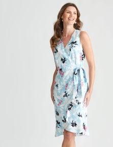W.Lane Frill Fern Dress
