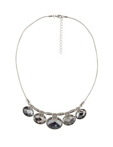 Barcs Australia Oyster Stone Set Necklace