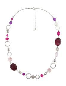 W.Lane Multi Bead Necklace