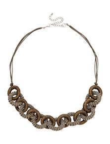 W.Lane Chains & Thread Link Necklace