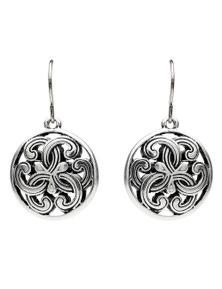 Silver Allure Earring