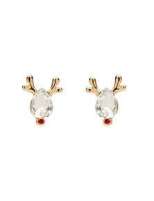 Xmas Reindeer Earring