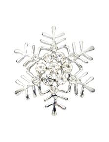 Xmas Snowflake Brooch
